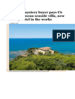 Russian mystery buyer pays €6 mn for Tuscan seaside villa.docx