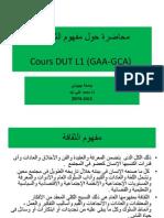 Cours DUT Arabe 2014