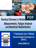 Residual Stress Measurement