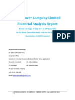 Financial Analysis Report HUBCO