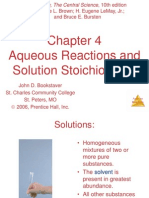 Aqueous Reactions and Stoichiometry Lecture