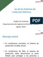 Funciones de Los Sistemas de Protección Eléctrica