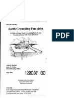 A Guide for Proper Earth Grounding Procedures for use with Tactical Systems