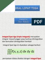 Integral Lipat Tiga