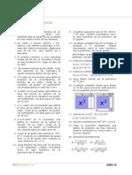 ejercicios  polinomios