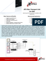 BTS Fiber Transport for DAS 4.6