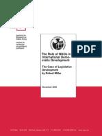 The Case of Legislative Development