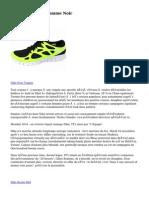 Nike Roshe Run Homme Noir