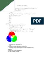 color part 1 questions