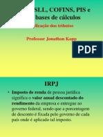 IRPJ, CSLL, COFINS, PIS e Suas Bases de Cálculos (1)