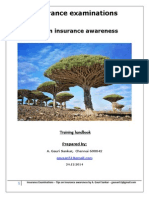Insurance examinations - Tips on insurance awareness