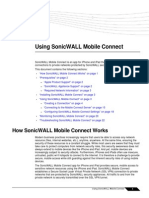 SonicWALL Mobile Connect User Guide