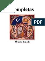 Completas Oração da noite da Liturgia das horas ou Ofício Divino_semna