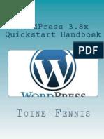 WordPress 3.8 Quickstart