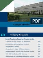 Company Profile CTI 0907