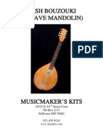 Irish Bouzouki (Octave Mandolin)