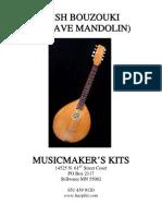 Irish Bouzouki (Octave Mandolin)