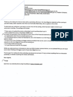 Manston CPO - due diligence emails