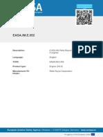 EASA-TCDS-E.052 (IM) Rolls--Royce Model 250 Series II Engines-01-22062011