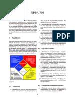 NFPA 704,  Asociación Nacional de Protección contra el Fuego