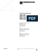 Technicak Manual TNC407 TNC415 TNC425