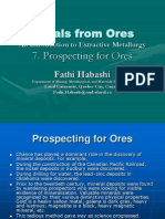 7. Prospecting for Ores