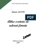Antonio Sandu / Atlas Ezoteric (poezii) Extras