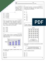 Progressão 6º Ano - Matemática