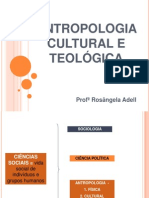 Antropologia Cultural e Teológica