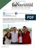 30-12-14 Augura Pedro Pablo Treviño victoria priista en 2015 _ El nacional