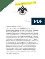 Carta de Convocação SCMDB