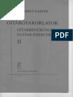 Gitargyakorlatok