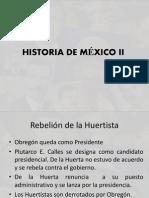 Historia de México II-2