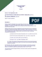 Debulgado v. CSC [Rule on Nepotism INCLUDES Promotion]