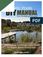 DIY Natural Pool Manual
