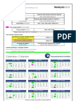 Class Calendar 2010 Francais 2.1