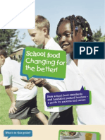 UK's School Food Trust Lunch Booklet