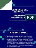 Gerencia Del Servicio.