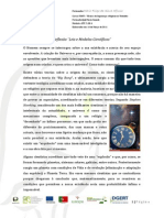 Reflexão - Leis e Modelos Científicos
