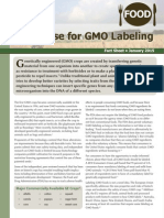 The Case for GMO Labeling