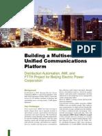 Building a Multiservice Unified Communications Platform