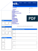 faithbook template  2014