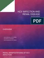 HCV Renal Disease