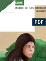Informe Situación de los derechos humanos en el oriente paraguayo