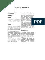 Bolile Parazitare Digestive