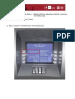 Pasos Para Realizar La Transferencia Bancaria Desde Cajeros Automaticos 2.0