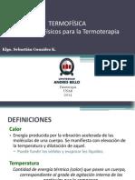 CLASE 03 Termofisica y Termoterapia