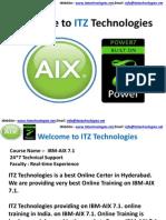 IBM-AIX Online Traning