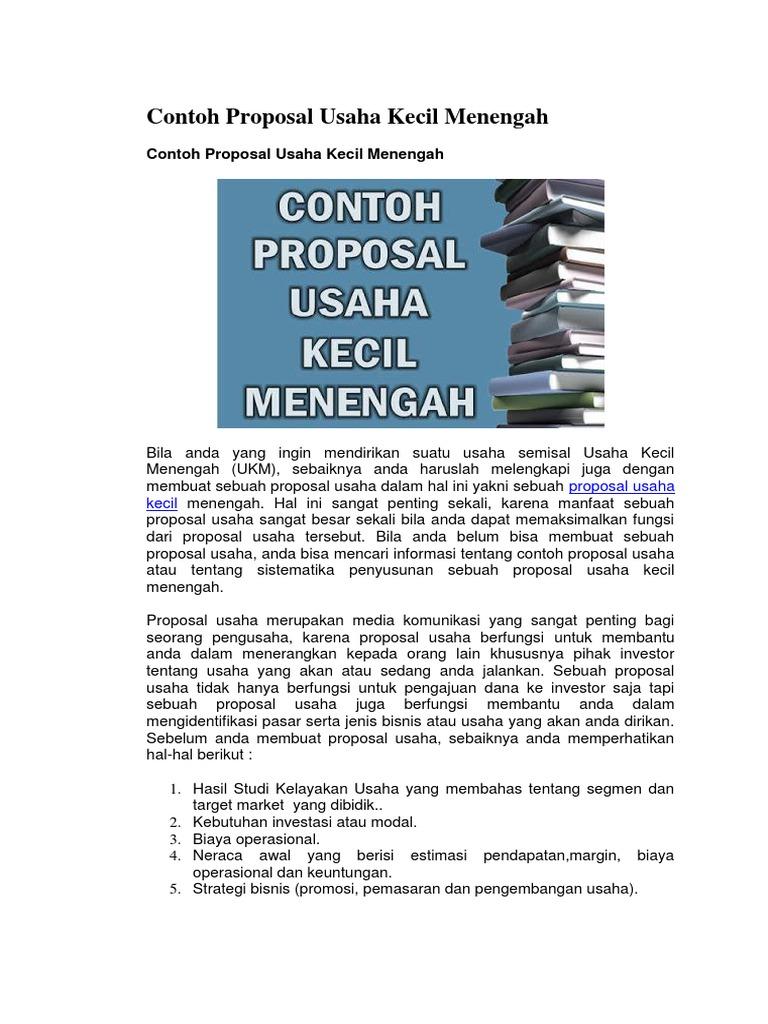 Contoh Proposal Edoy 2