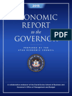 Governor's Economic Review 2015